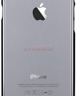 Protectie spate Comma Brightness Gun pentru iPhone 6/6S (Negru)