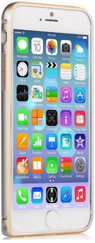 Bumper Devia Aliminium pentru iPhone 6 (Argintiu)