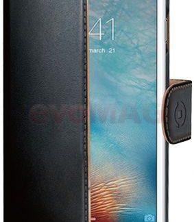Husa Book cover Celly WALLY800 pentru Apple iPhone 7 (Negru)