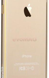 Bumper Devia Aluminium pentru iPhone 6 Plus (Auriu)