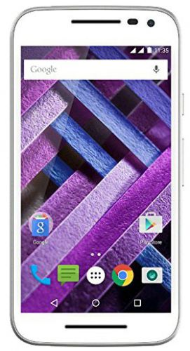 Telefon Mobil Motorola Moto G XT1557, Procesor Octa-core 1.5GHz/1.0GHz, IPS LCD capacitive touchscreen 5inch, 2GB RAM, 16GB Flash, 13MP, 4G, Wi-Fi, Dual Sim, Android (Alb)