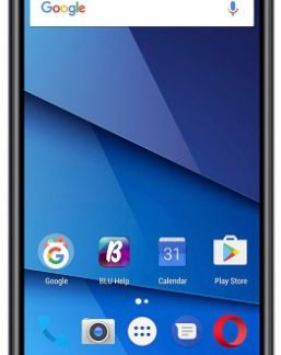 Telefon Mobil Blu Grand XL, Procesor Quad-Core 1.3GHz, Capacitive Touchscreen 5.5inch, 1GB RAM, 8GB Flash, 8MP, Wi-Fi, Dual Sim, Android (Negru)