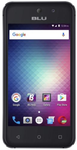 Telefon Mobil Blu Vivo 5 Mini, Procesor Quad-Core 1.3GHz, IPS LCD Capacitive Touchscreen 4inch, 512MB RAM, 8GB Flash, 5MP, Wi-Fi, Dual Sim, Android (Negru)