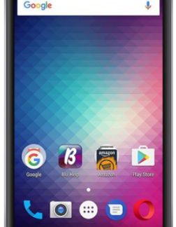 Telefon Mobil Blu Grand Max, Procesor Quad-Core 1.3GHz, IPS LCD Capacitive Touchscreen 5inch, 1GB RAM, 8GB Flash, 8MP, Wi-Fi, Dual Sim, Android (Gri)