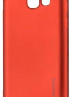 Protectie spate Meleovo Silicon Soft Slim pentru Samsung Galaxy A5 (2017) (Rosu Mat)