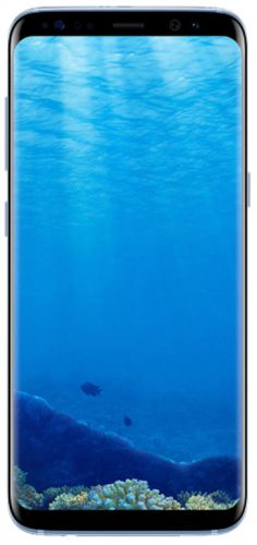 Telefon Mobil Samsung Galaxy S8 Plus, Procesor Octa-Core 2.3GHz / 1.7GHz, Super AMOLED Capacitive touchscreen 6.2inch, 4GB RAM, 64GB Flash, 12MP, 4G, Wi-Fi, Android (Coral Blue)