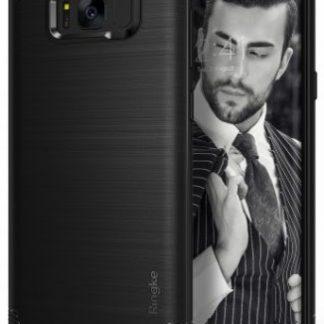 Husa Protectie Spate Samsung Galaxy S8 Onyx Black Ringke pentru Samsung Galaxy S8 (Negru)