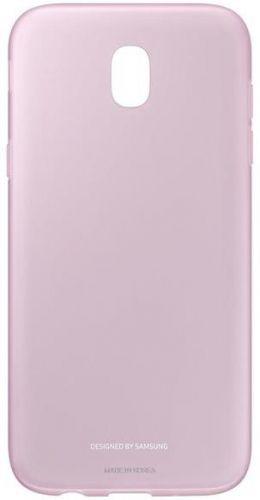 Protectie Spate Samsung Jelly Cover EF-AJ530TPEGWW pentru Samsung Galaxy J5 2017 (Roz)
