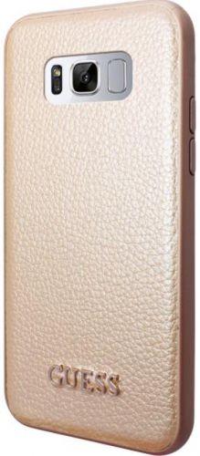 Protectie Spate GUESS GUHCS8IGLGO pentru SAMSUNG Galaxy S8 (Auriu)