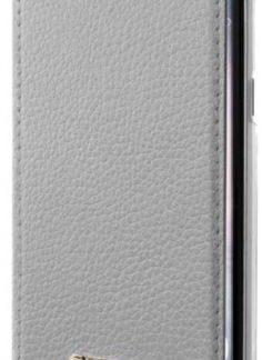 Husa Book Cover GUESS GUFLBKS8IGLTSI pentru SAMSUNG Galaxy S8 (Argintiu)
