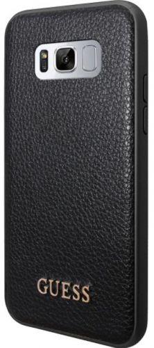 Protectie Spate GUESS GUHCS8LIGLBK pentru SAMSUNG Galaxy S8 Plus (Negru)