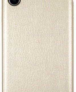 Protectie Spate GUESS Iridescent GUHCPXIGLGO pentru APPLE iPhone X (Auriu)