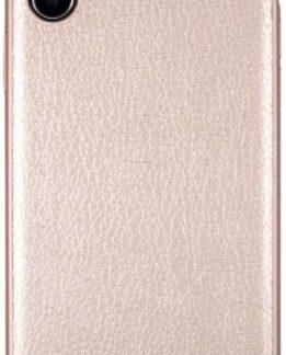 Protectie Spate GUESS Iridescent GUHCPXIGLRG pentru APPLE iPhone X (Roz Auriu)