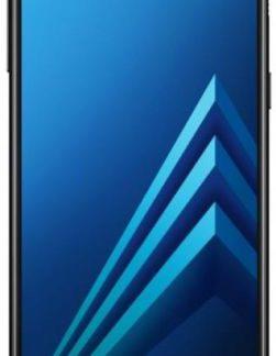 Telefon mobil Samsung Galaxy A8 (2018), Procesor Octa-Core 1.6GHz/2.2GHz, Super AMOLED 5.6inch, 4GB RAM, 32GB Flash, 16MP, Wi-Fi, 4G, Dual Sim, Android (Negru)