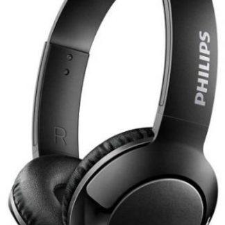 Casti Stereo Philips SHB3075BK, Bluetooth, Microfon (Negru)