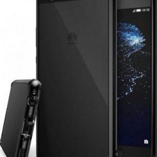 Husa Ringke Fusion Ink Black pentru Huawei P10 Plus + BONUS folie protectie display Ringke (Transparent)
