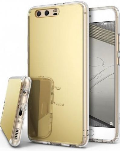 Husa Protectie Spate Ringke MIRROR ROYAL GOLD pentru Huawei P10 + Bonus folie display (Auriu)