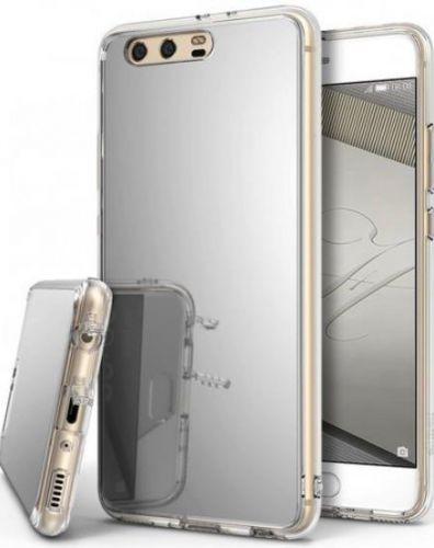Husa Protectie Spate Ringke MIRROR SILVER pentru Huawei P10 + Bonus folie display (Argintiu)