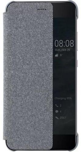Husa Flip Cover Huawei 51991888 pentru Huawei P10 (Gri)