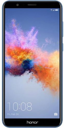 Telefon Mobil Huawei Honor 7X, Procesor Octa-Core 2.36GHz / 1.7GHz, IPS LCD Capacitive touchscreen 5.93inch, 4GB RAM, 64GB Flash, Camera Duala 16MP+2MP, Wi-Fi, 4G, Dual Sim, Android (Albastru)