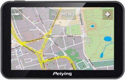 Sistem de navigatie Peiying PY-GPS5014, TFT LCD Capacitive touchscreen 5inch, Procesor 800MHz, 256MB RAM, 8GB Flash, Windows CE 6, Harta Europei