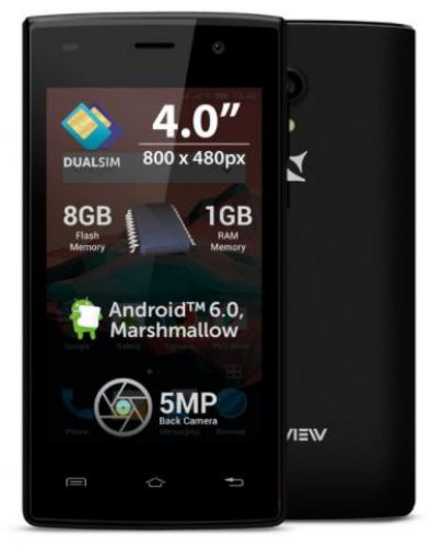 Telefon Mobil Allview A5 Ready, Procesor Quad-Core 1.30GHz, TFT LCD Capacitive touchscreen 4inch, 1GB RAM, 8GB Flash, 5MP, Wi-Fi, Dual Sim, 3G, Android (Negru)