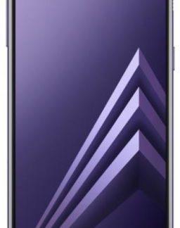 Telefon mobil Samsung Galaxy A8 (2018), Procesor Octa-Core 1.6GHz/2.2GHz, Super AMOLED 5.6inch, 4GB RAM, 32GB Flash, 16MP, Wi-Fi, 4G, Dual Sim, Android (Violet)