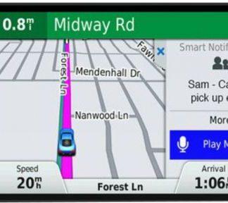 Sistem de navigatie Garmin DriveSmart 61 LMT-S, WQVGA TFT Capacitive Touchscreen 6inch, Wi-Fi, Harta Full Europa, Actualizari pe Viata a Hartilor
