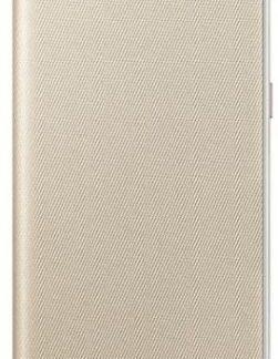 Husa Flip cover Samsung EF-FA530PFEGWW pentru Samsung Galaxy A8 (2018) (Auriu)