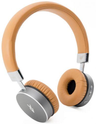 Casti Stereo Vividdi Vibes, Bluetooth, Microfon (Maro/Argintiu)