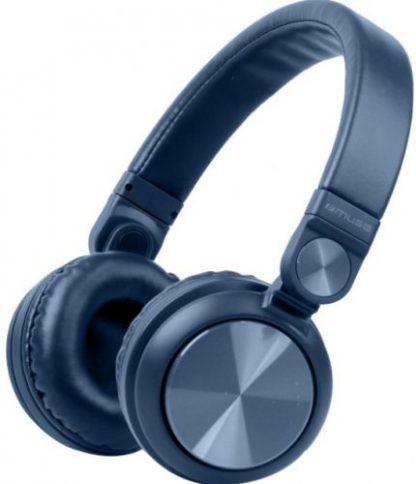 Casti Stereo Muse M-276 BTB, Bluetooth (Albastru)