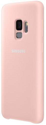 Protectie Spate Samsung Silicone EF-PG960TPEGWW pentru Samsung Galaxy S9 (Roz)