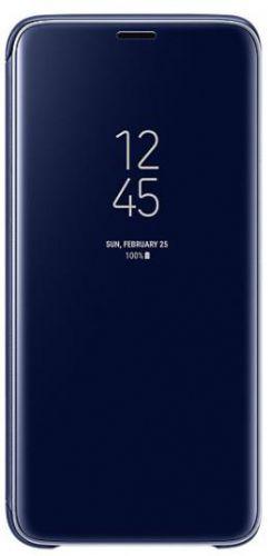 Husa Samsung Clear View Cover EF-ZG960CLEGWW pentru Samsung Galaxy S9 (Albastru)