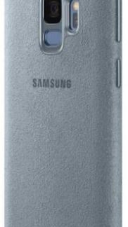 Protectie Spate Samsung Alcantara EF-XG960AMEGWW pentru Samsung Galaxy S9 (Turcoaz)