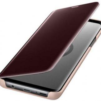 Husa Samsung Clear View Standing EF-ZG965CFEGWW pentru Samsung Galaxy S9 Plus (Auriu)