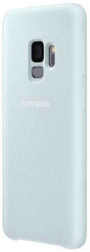 Protectie Spate Samsung Silicon EF-PG960TLEGWW pentru Samsung Galaxy S9 (Albastru)