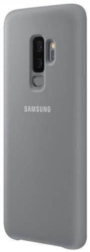 Protectie Spate Samsung Silicone EF-PG965TJEGWW pentru Samsung Galaxy S9 Plus (Gri)