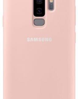 Protectie Spate Samsung Silicone EF-PG965TPEGWW pentru Samsung Galaxy S9 Plus (Roz)