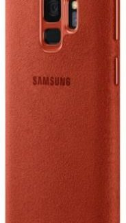 Protectie Spate Samsung Alcantara EF-XG960AREGWW pentru Samsung Galaxy S9 (Rosu)