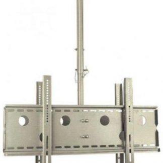 Suport Tavan SBOX CPLB-102MD, 30inch - 50inch, 2 x 60 Kg (Argintiu)