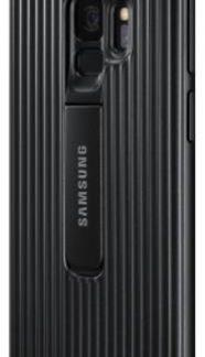 Protectie Spate Samsung Protective Standing EF-RG960CBEGWW pentru Samsung Galaxy S9 (Negru)