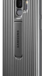 Protectie Spate Samsung Protective Standing EF-RG960CSEGWW pentru Samsung Galaxy S9 (Argintiu)