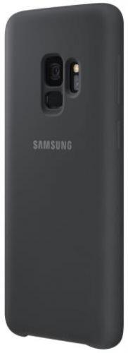 Protectie Spate Samsung Silicone EF-PG960TBEGWW pentru Samsung Galaxy S9 (Negru)