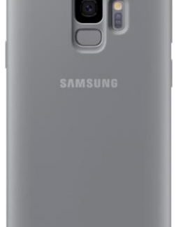 Protectie Spate Samsung Silicone EF-PG960TJEGWW pentru Samsung Galaxy S9 (Gri)
