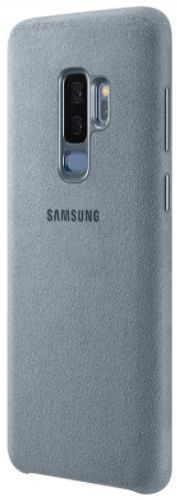 Protectie Spate Samsung Alcantara EF-XG965AMEGWW pentru Samsung Galaxy S9 Plus (Turcoaz)