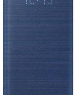 Husa Samsung Led View Cover EF-NG960PLEGWW pentru Samsung Galaxy S9 (Albastru)