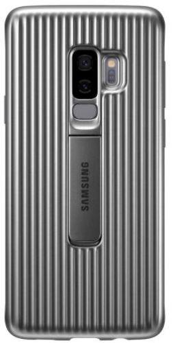 Protectie Spate Samsung Protective Standing EF-RG965CSEGWW pentru Samsung Galaxy S9 Plus (Argintiu)