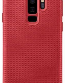 Protectie Spate Samsung Hyperknit EF-GG965FREGWW pentru Samsung Galaxy S9 Plus (Rosu)