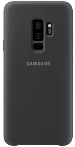 Protectie Spate Samsung Silicone EF-PG965TBEGWW pentru Samsung Galaxy S9 Plus (Negru)