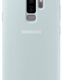 Protectie Spate Samsung Silicone EF-PG965TLEGWW pentru Samsung Galaxy S9 Plus (Albastru)
